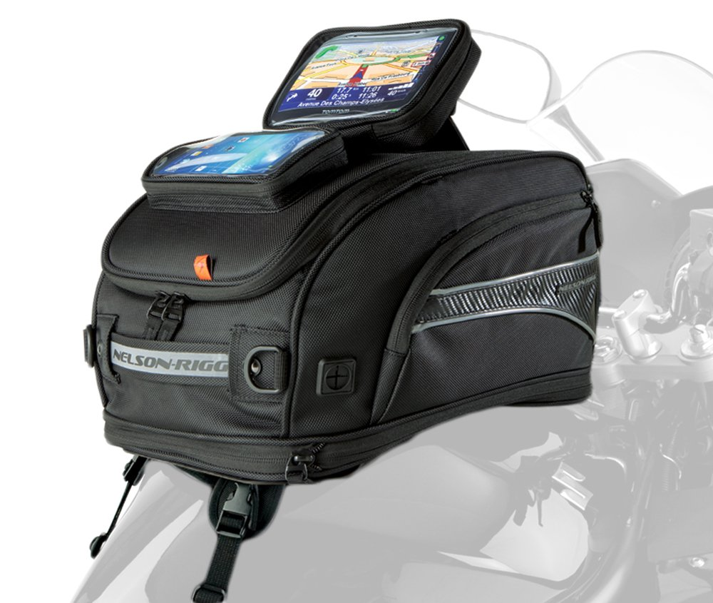 Nelson-Rigg CL-2020-MG GPS Sport Motorcycle Tank Bag Magnetic Mount Nelson Rigg