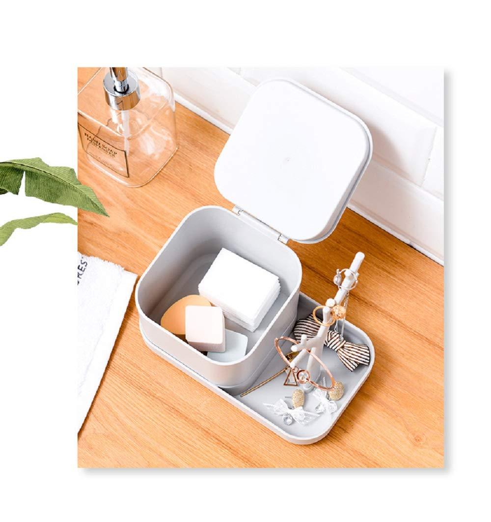 ARTIEL Creative Multi-Función Mini Joyas Accesorios Caja De Almacenamiento Colgante Plástico Árbol Rack Organizador,White: Amazon.es: Hogar
