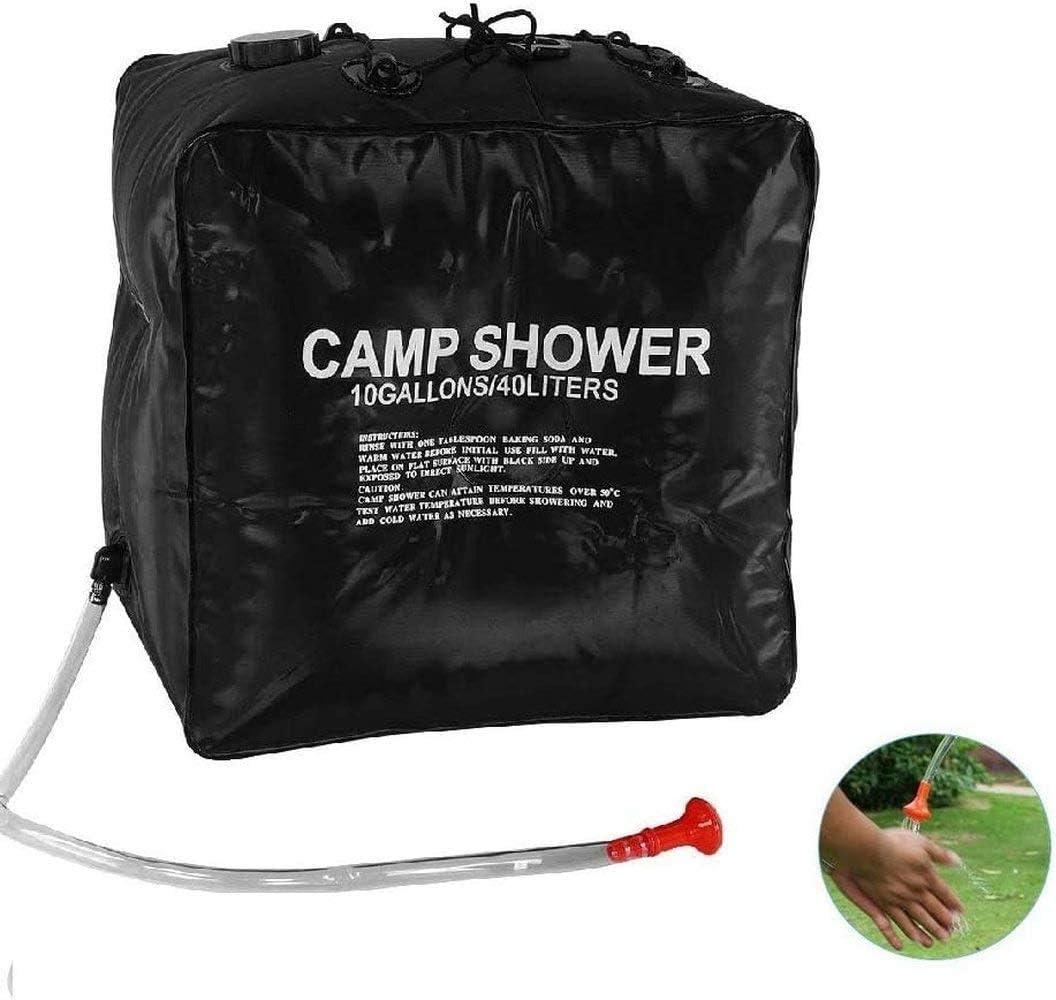 Bolsa de ducha Solar de Camping 10 galones/40 litros bolsa de ...