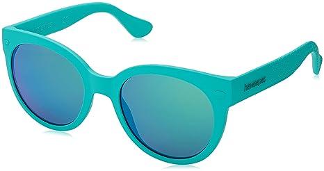 Havaianas Ngoldnha/M Z9 QPP, Occhiali da Sole Donna, Turchese (Turquoise/Blue), 52