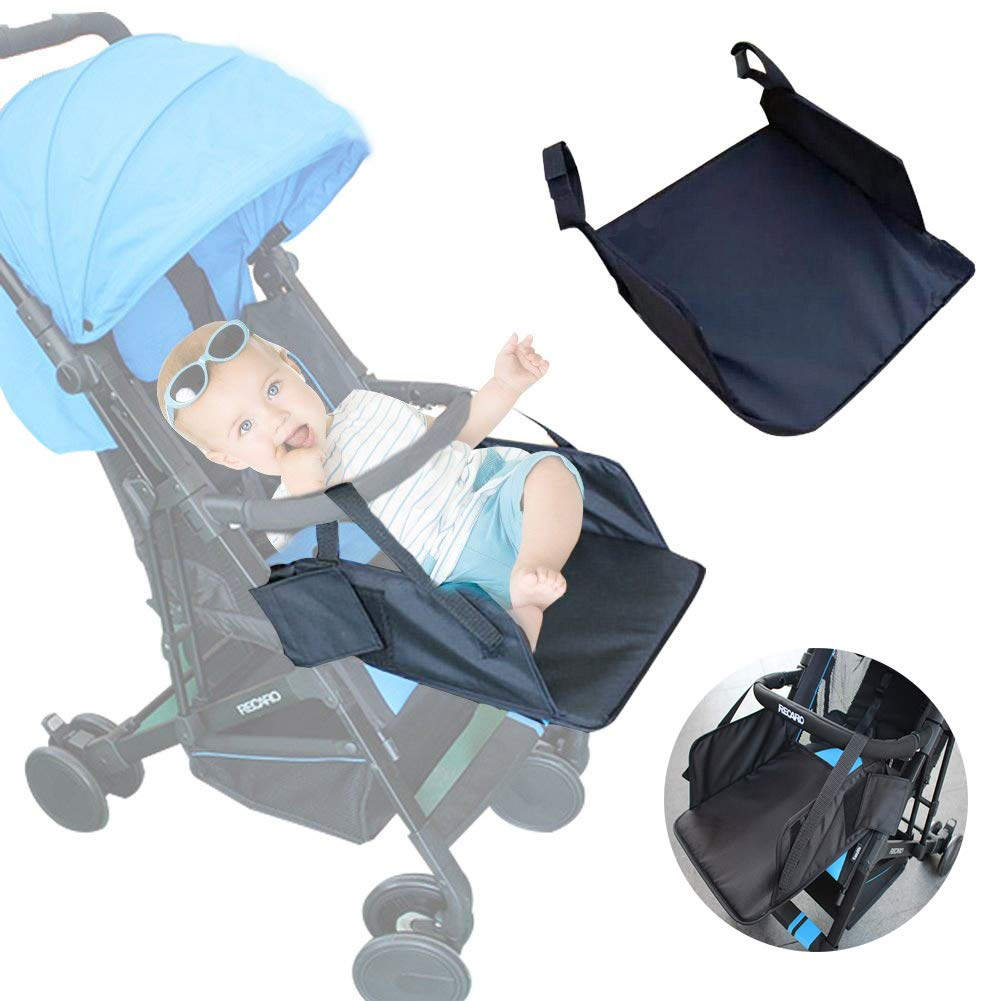 Aochol Stroller Footrest, Baby Stroller Universal Footrest Extended Seat Pedal Child Baby Umbrella Car Accessories Extended Seat, Extended Booster Seat(13.8'' x 13.8'')