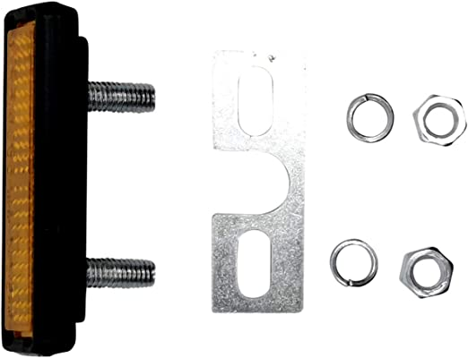 Pedal-Reflektor zum Schrauben Fahrrad Katzenauge Strahler R7N4 tools U8M7