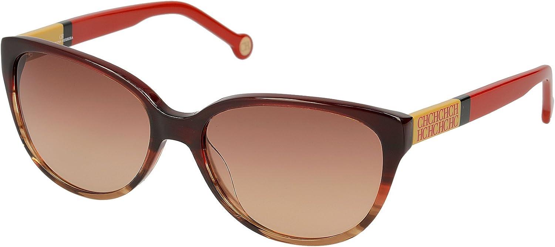 Carolina Herrera SHE572570ACL Gafas de sol, Rojo, 57 para Mujer
