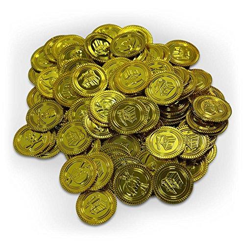 Pirate coins, 100pcs.