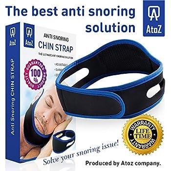 Amazon Com Anti Snore Chin Strap Neoprene Snore Guard