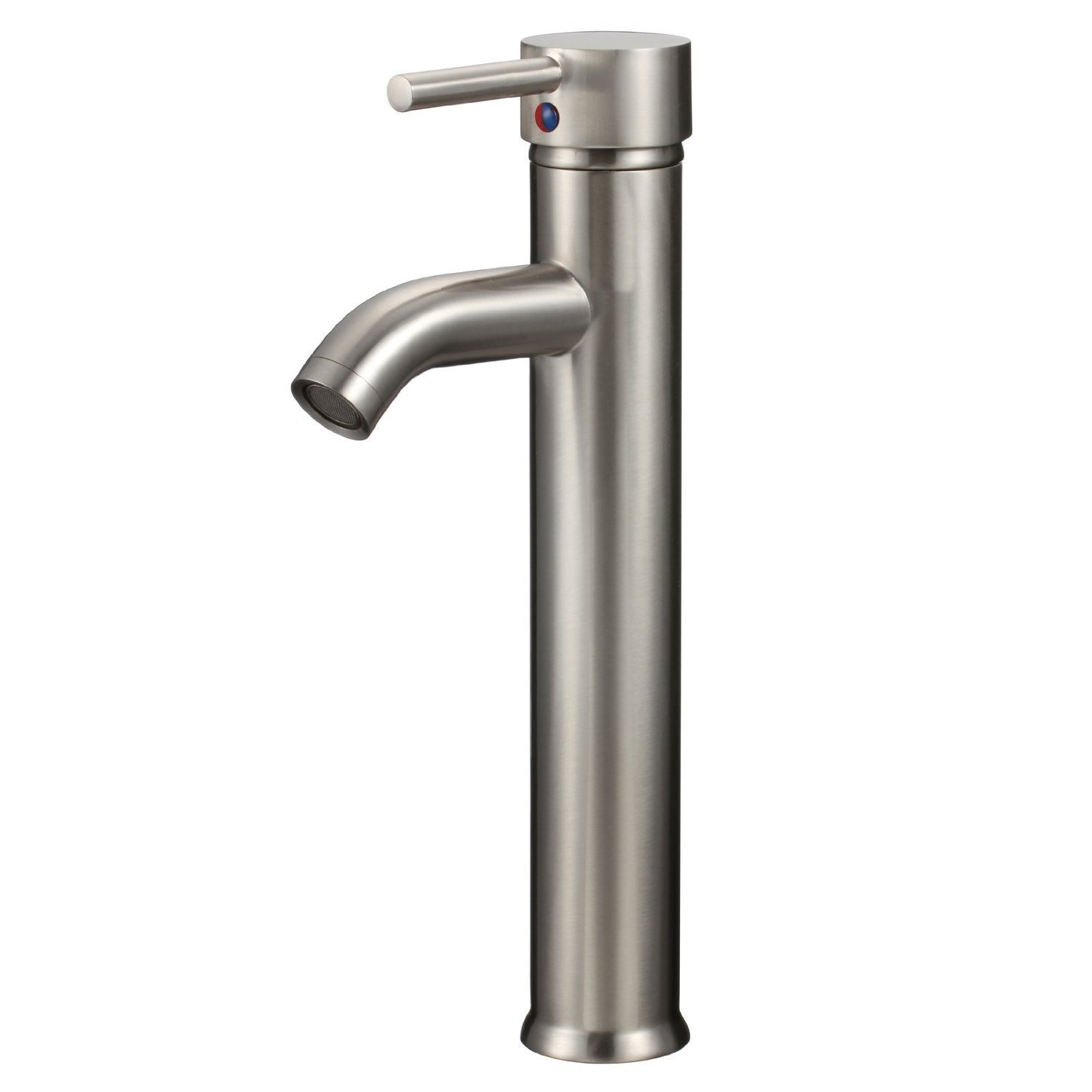 yodel vessel bathroom sink faucet brushed nickel