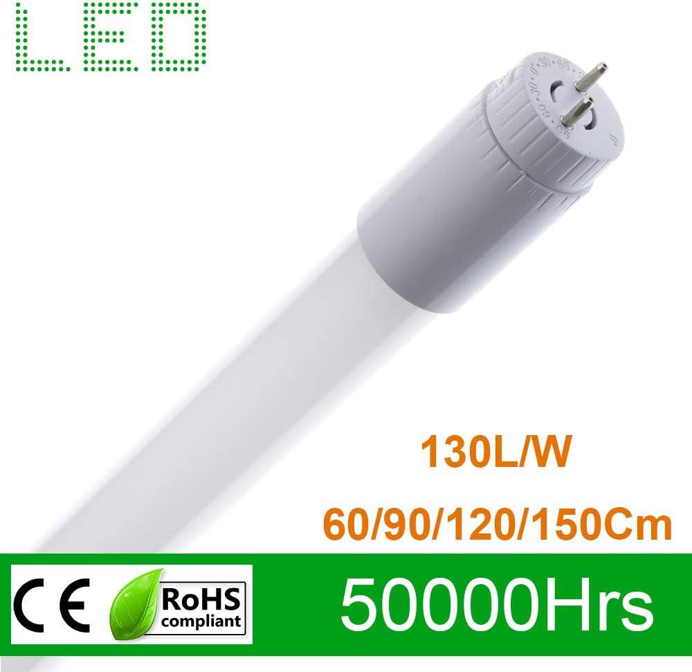 K3000 BLANC CHAUD Tube LED T8 90mm Connexion Lat/érale 14W 130lm//W NANO Plastique pour remplacer les tubes fluorescents conventionnels
