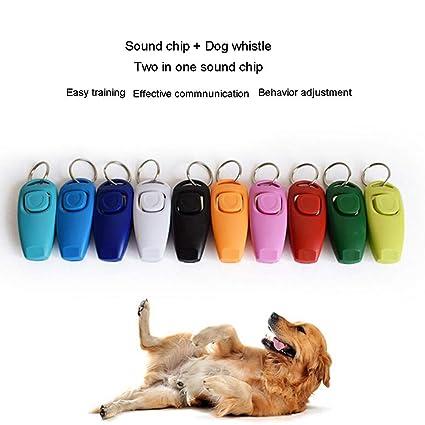 Xligo 2 in 1 Pet Training Clicker Pet Training Sound Chip