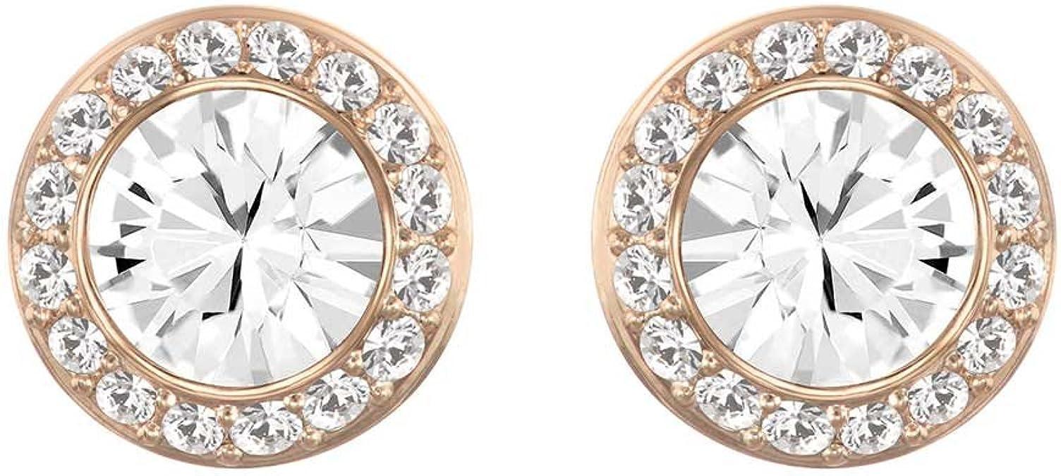 pierced P31 Earrings with Dangling Angels