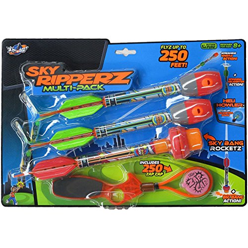 Zing Sky Ripperz, Multi Pack (3) with Heli Power.