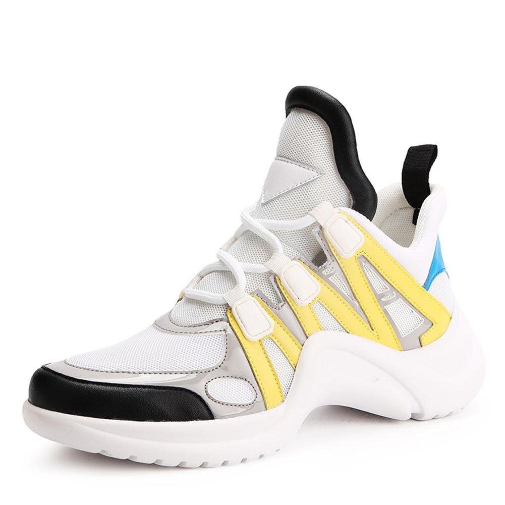 Zapatillas de Deporte de Las Mujeres Zapatos Casuales 2018 Primavera, Verano, Otoño Zapatos Deportivos de Malla Gruesa Zapatos Deportivos (Color : 5#, Tamaño : 38) 38 5#