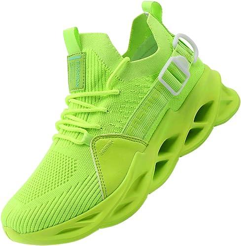 ASHION Laufschuhe Jungen Herren Sportschuhe Stra/ßenlaufschuhe Jungen Sneaker Joggingschuhe Turnschuhe Walkingschuhe Traillauf Fitness Schuhe