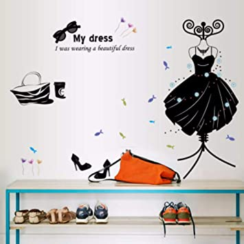 Runinstickers Pegatinas De Pared Productos Ropa Zapatos ...