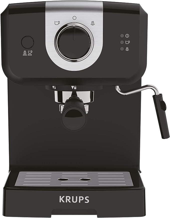 Krups Opio XP320810 - Cafetera, 15 bares de presión, calentador de ...