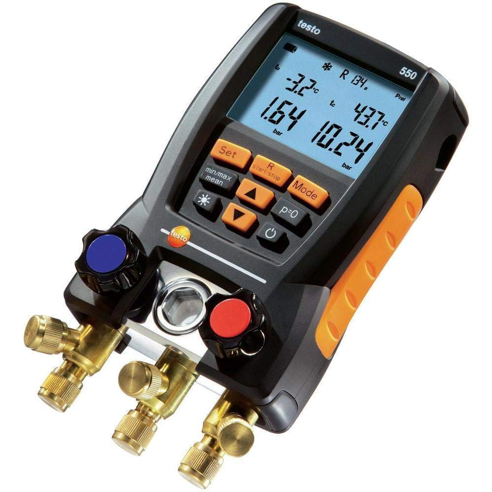 Digital Collector Kit Electronic Refrigerant Meter Set for Commissioning Service Maintenance FAJIE