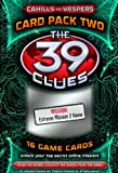 39 clue cards - The 39 Clues: Cahills vs. Vespers Card Pack 2: The Magellan Heist