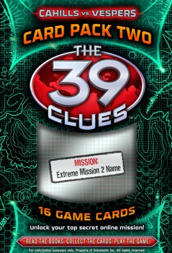 the 39 clues card pack - 6