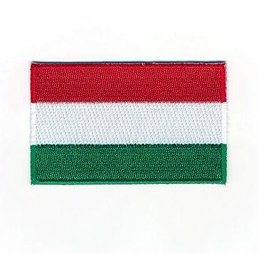 60 X 35 Mm Ungarn Flagge Budapest Debrecen Flag Aufnäher Aufbügler 0920 B Auto