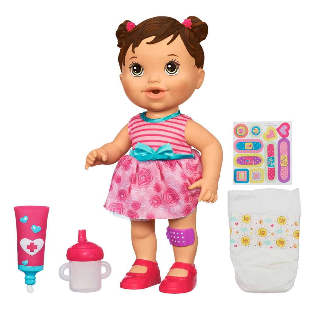 Baby Alive Toys : Amazon baby alive gets a boo doll brunette
