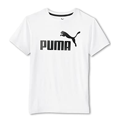 Amazon.com: Puma Boys T-Shirts 4-7 Boys and 8-20 Boys No. 1 Logo Tee Solid  Blue white Grey: Sports & Outdoors