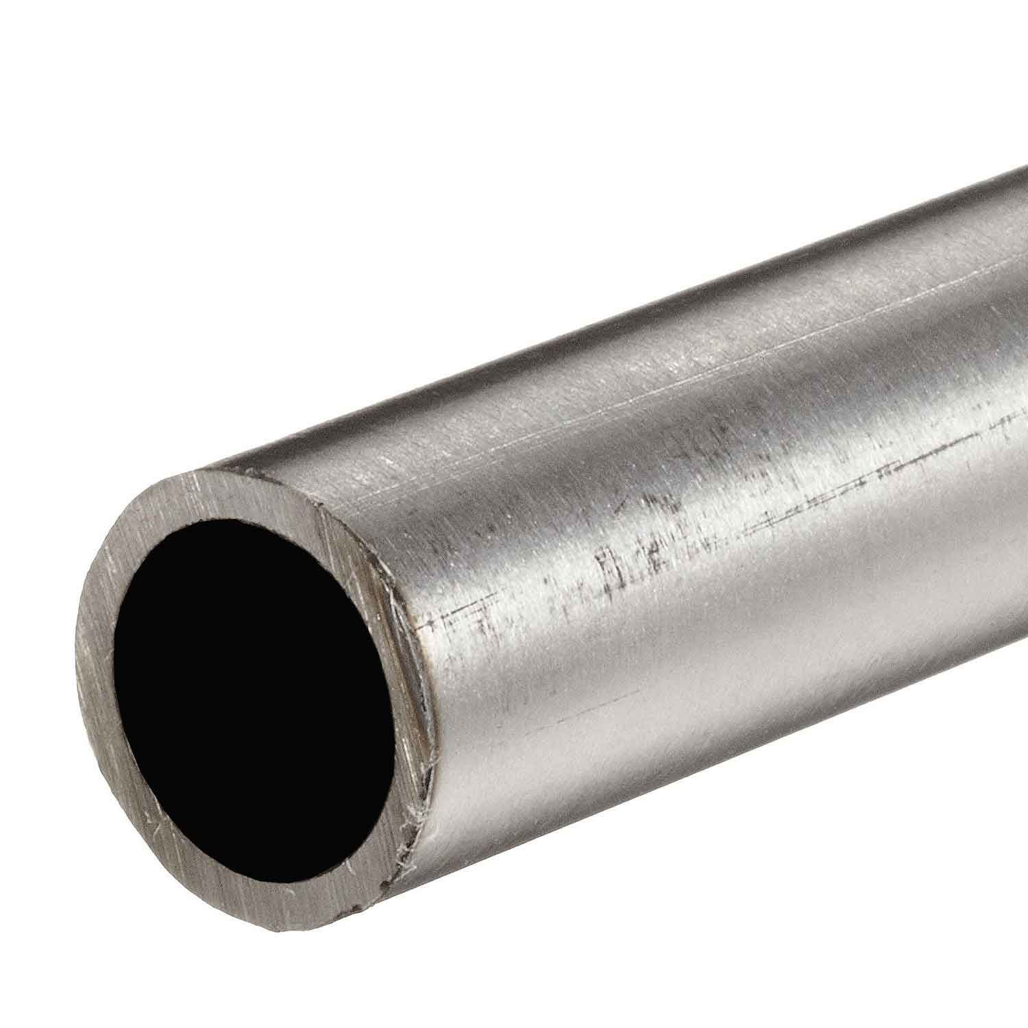 Online Metal Supply 316 Stainless Steel, Round Tube, OD: 1.000 (1 inch), Wall: 0.120 inch, Length: 36 inches, Welded