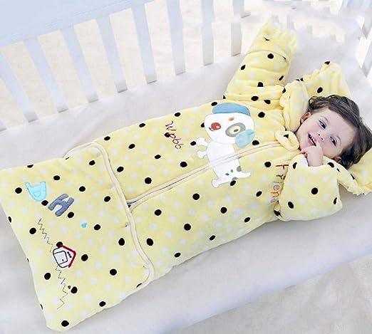 QFYD FDEYL Saco de Dormir de Manta portátil para bebés, Saco de ...