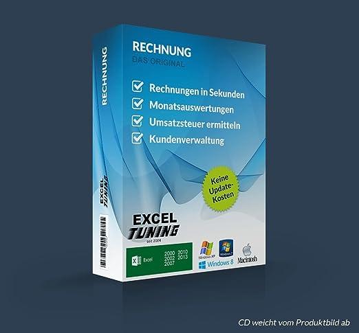 Excel Tuning Profi Rechnungsprogramm Amazonde Software