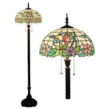GAOLIQIN Lámparas de pie Estilo Tiffany Salón Europeo ...