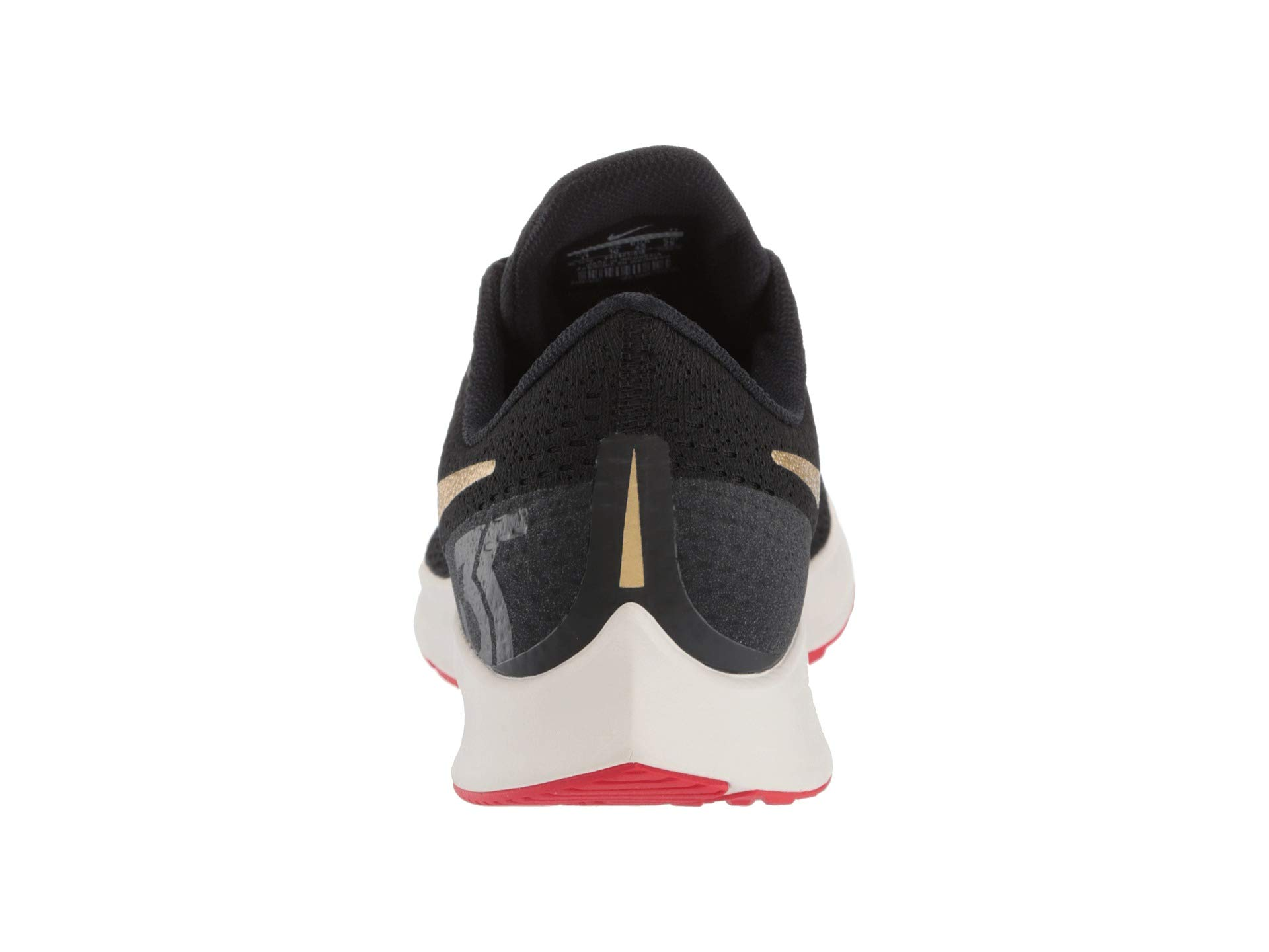 Nike Air Zoom Pegasus 35 Sz 6.5 Mens Running Black/Metallic Gold-University Red Shoes by Nike (Image #3)