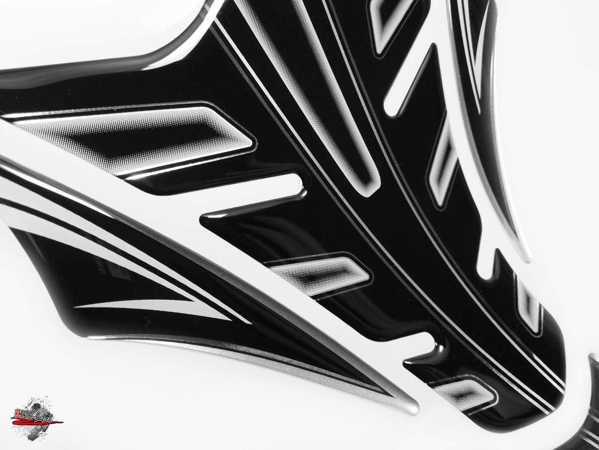 TankPad Set Lackschutz f/ür Motorrad Tanks Metallic Silber Bike Label 5022231A