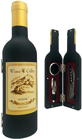 Lote de 20 Sets de 3 Piezas Botella de Vino en caja de regalo - Regalos originales Hombres bodas