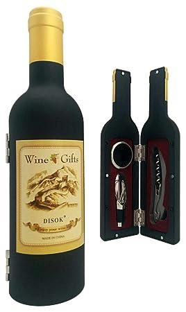 Lotto di 20set di 3pezzi bottiglia di vino in scatola regalo–regali originali uomini matrimonio