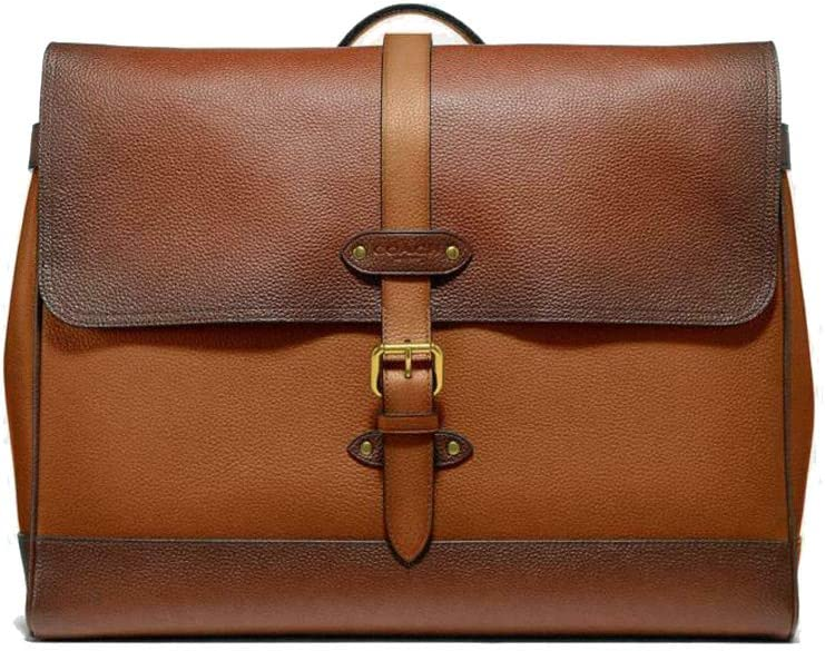 Coach Mens Heritage Club Hudson Leather Messenger Tote Bag - #F50055