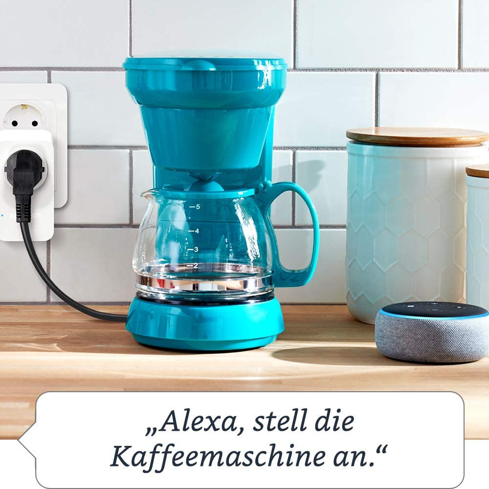 funktioniert mit Alexa Smart Plug WLAN-Steckdose