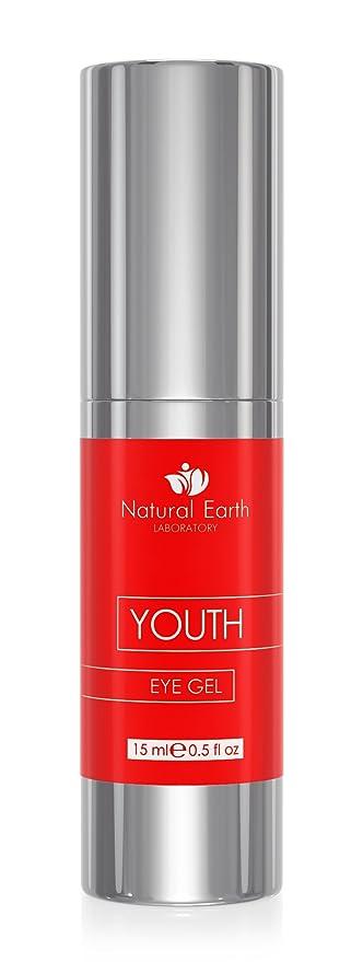 Mejor juventud Eye Gel para ojeras, arrugas, Hinchazón y bolsas. Con Vitamina E