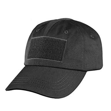Happy Hours - High Quality Canvas Solid Black Tactical Operator Contractor  Velcro Military Patch Sun Protection Cap Sun Hat  Amazon.ca  Clothing   ... 88a86009d83