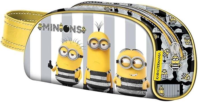 MINIONS- GRU Mi Villano Favorito 3 Estuche portatodo, Color Amarillo, 21 cm (Karactermanía 32560): Amazon.es: Juguetes y juegos