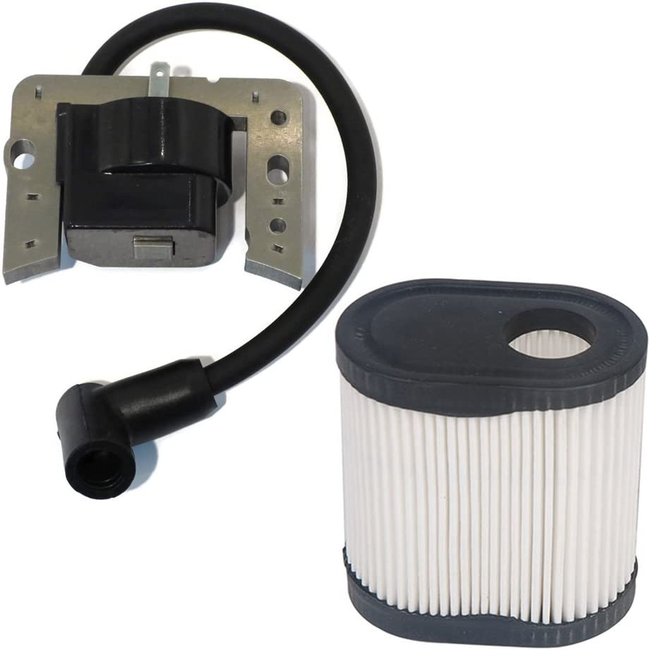 HIFROM Ignition Coil Solid State Module for Tecumseh 34443 34443A 34443B 34443C 34443D fit LEV115 LEV120 LV148A LV195EA with Air Filter 36905