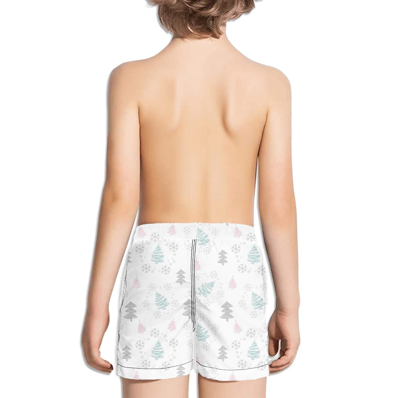 ddasqas New Year and Winter Holidays Christmas Kid Athletic Gym Shorts Swim Shorts Bathing Suits
