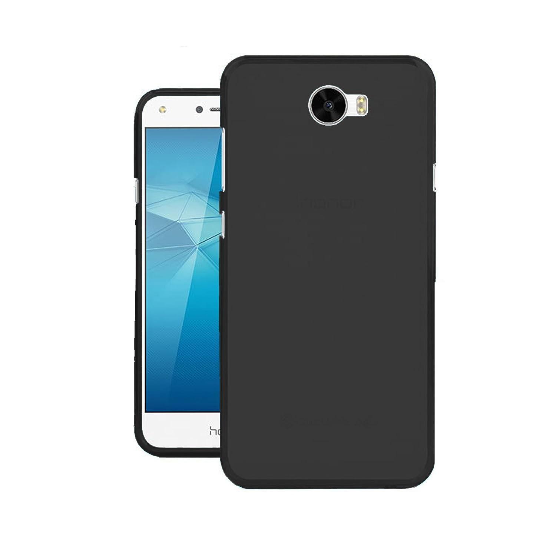 TBOC® Funda de Gel TPU Negra para Huawei Y6 II Compact: Amazon.es ...
