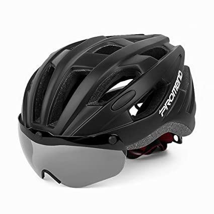 Amazon Com P R O M E N D Magnetic Belt Goggles Riding Helmet