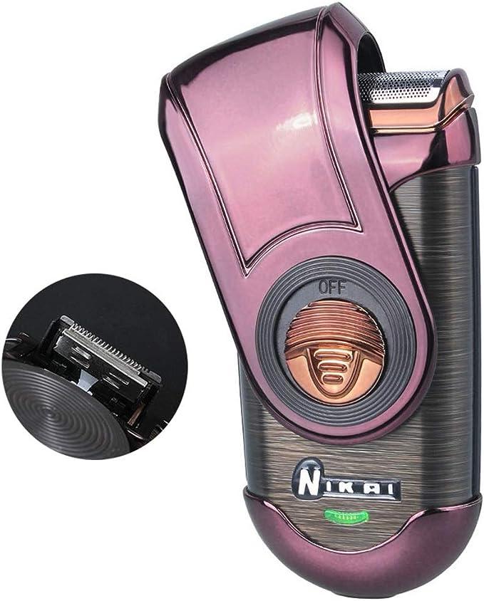 ZHATTEKER Maquinilla de Afeitar eléctrica para Hombres, afeitadora ...