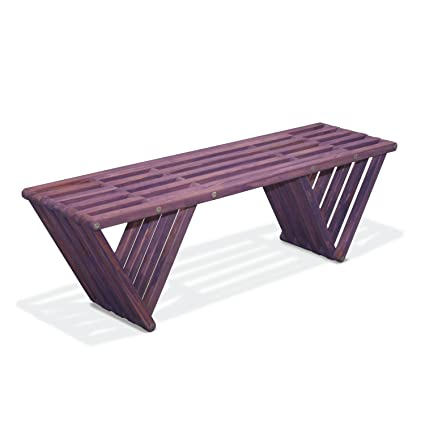 Astounding Glodea X60 Bench Purple Berry Ncnpc Chair Design For Home Ncnpcorg