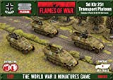 Battlefront Flames of War Sd Kfz 251 Transport Platoon