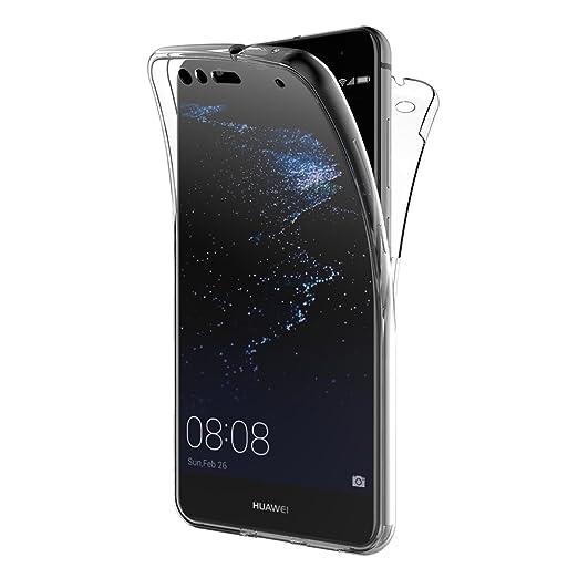 3 opinioni per Cover Huawei P10 Lite, AICEK 360°Full Body Cover Huawei P10 Lite Silicone Case