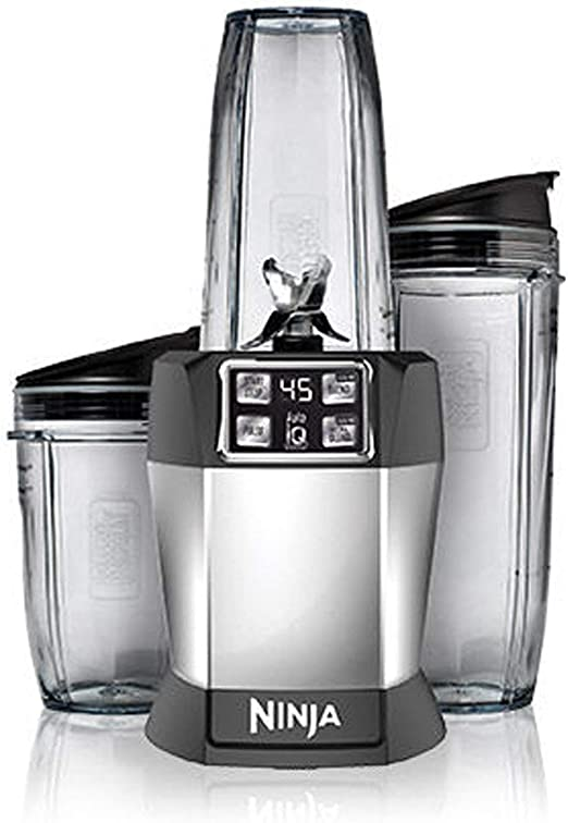 Nutri Ninja BL482 Auto-iQ Blender 1000 Watts, Black (Renewed)
