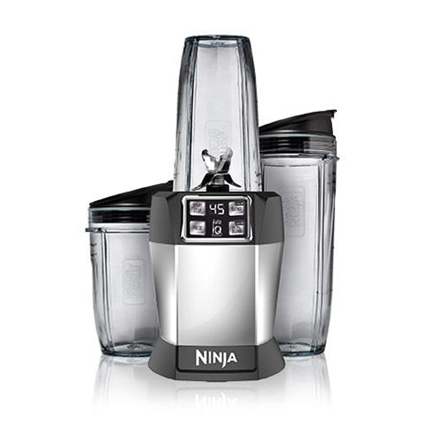 Amazon.com: Nutri Ninja Blender Auto-iQ for One-Touch ...