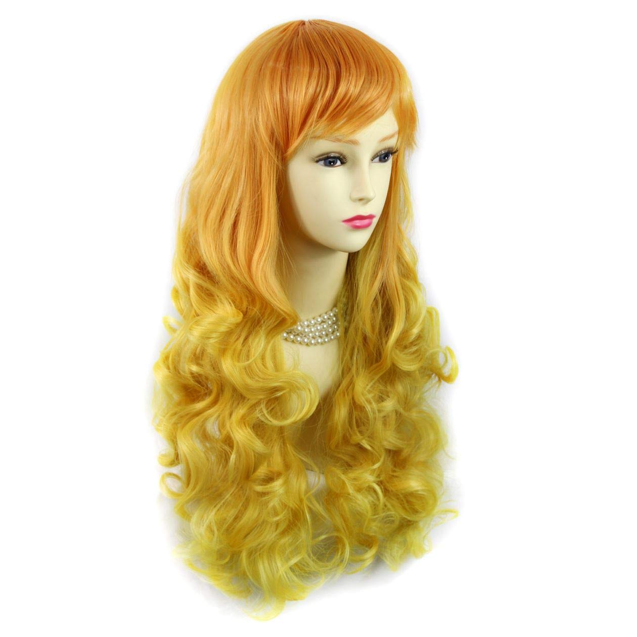 Amazon.com : Wiwigs Romantic Long Curly Wig