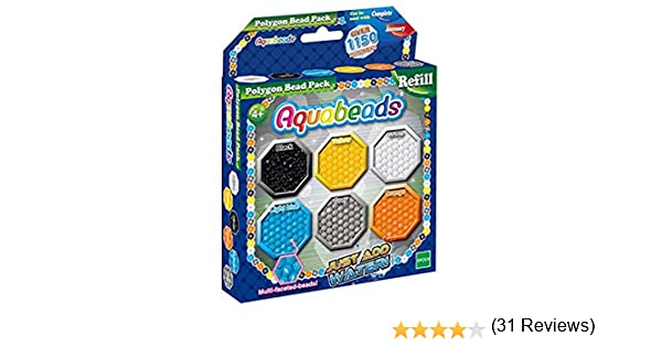 Aquabeads Cuentas de Repuesto para Polígonos: Amazon.es: Juguetes ...