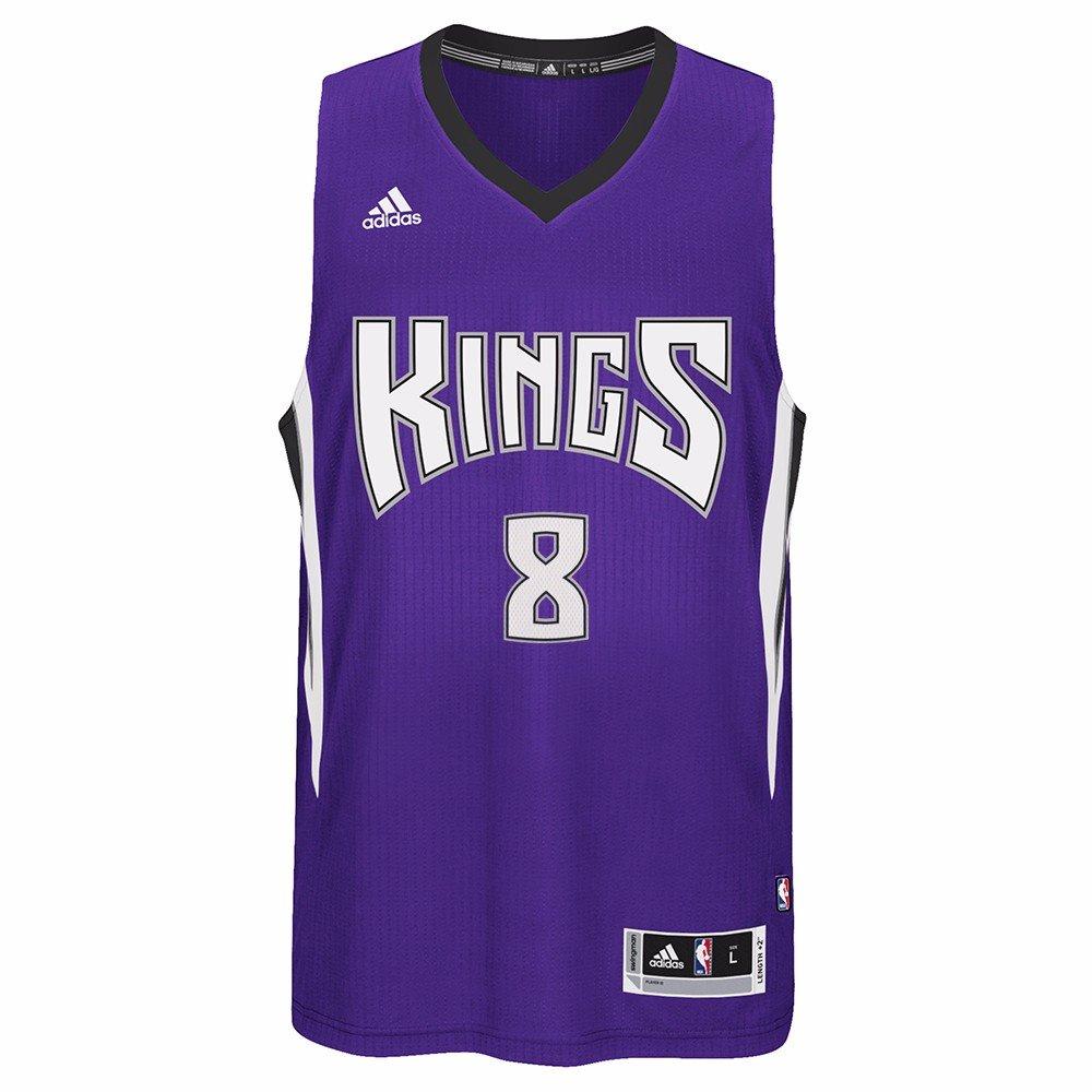 f7bc63c26 Amazon.com   adidas Rudy Gay Sacramento Kings NBA Purple Official Road Away  Climacool Swingman Jersey Men   Sports   Outdoors